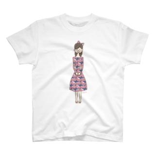 〈 naminada 005/365 〉SAMEのお嬢さん Tシャツ