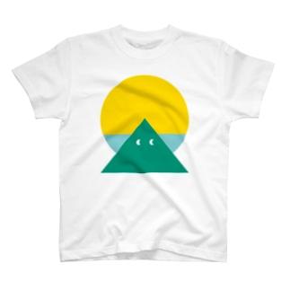 YAMA SUN Tシャツ