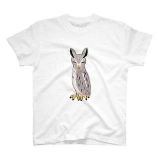 アフリカオオコノハズク非常時 Tシャツ