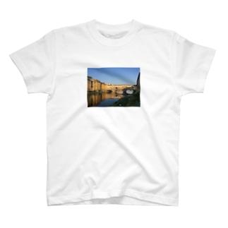 イタリアの橋 Tシャツ