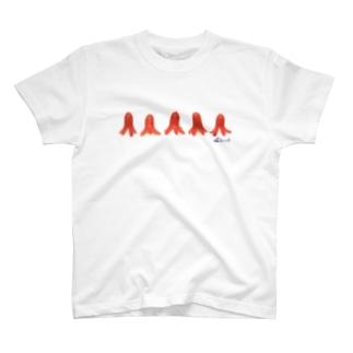 タコ5 Tシャツ