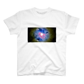 満月 Tシャツ