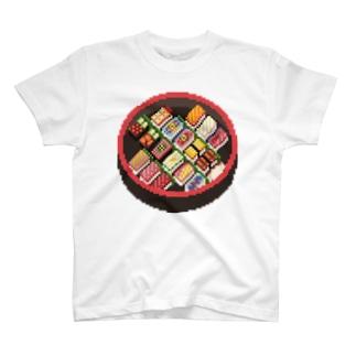 寿司のドット絵 Tシャツ