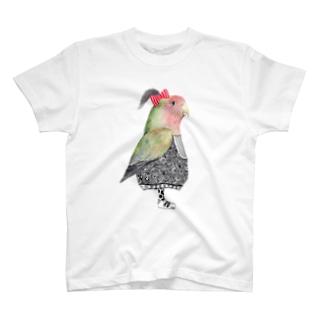 インコ Tシャツ