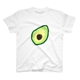 アボカド Tシャツ