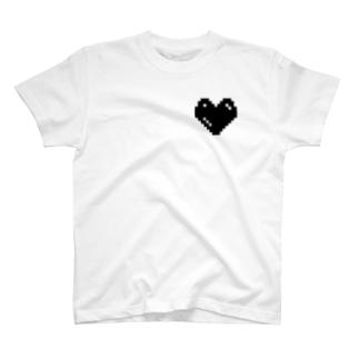 レトロチックハート Tシャツ