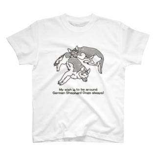 ウルとテト Tシャツ