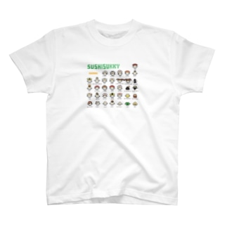 PixelArt スシスッキー Tシャツ