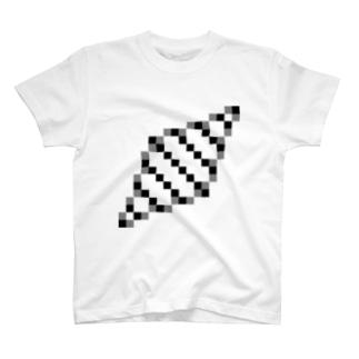 二重螺旋構造 Tシャツ