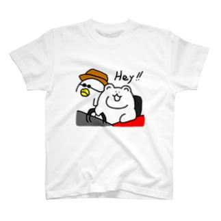 Heyクマ Tシャツ