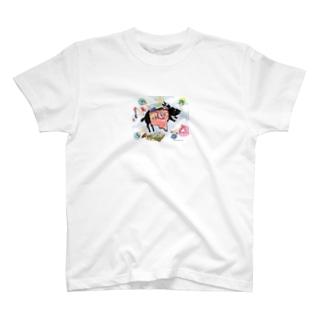 内臓ウサギ Tシャツ