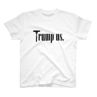 Trump us. Tシャツ