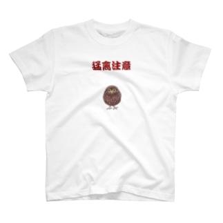 猛禽注意1 Tシャツ