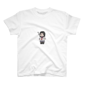 Gawaズショップのキメ顔れいかちゃんTシャツ