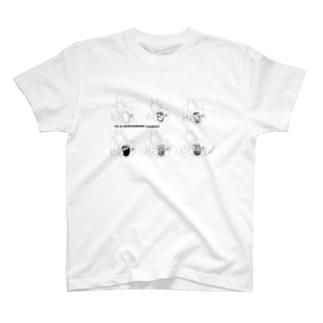 手を温める Tシャツ