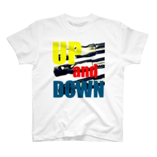 up and down Tシャツ