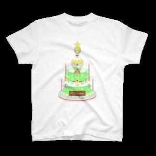メルヘンダイバーのメレンゲドールの王子様とクリスマスケーキ Tシャツ