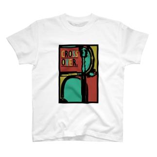 CROSS OVER. Tシャツ