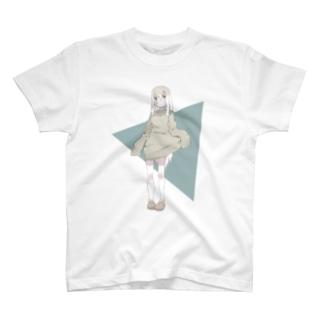 サンカクバック Tシャツ