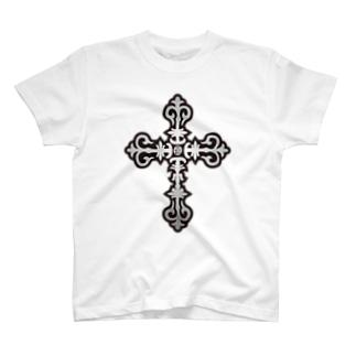 シルバークロス/Pray for the World Tシャツ