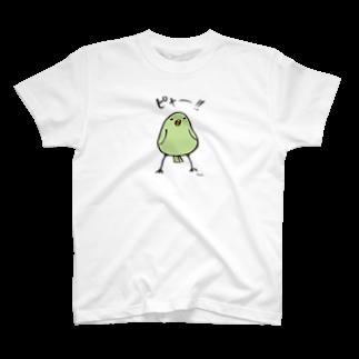うさぎまつりのピャーTシャツ