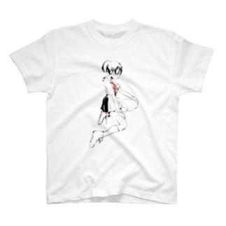 「t」 Tシャツ