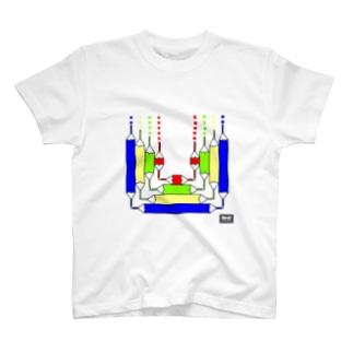 色鉛筆(codycoby) Tシャツ