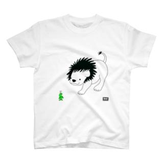 ライオンとアリ(codycoby) Tシャツ