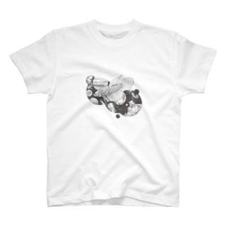 星空を泳ぐ Tシャツ
