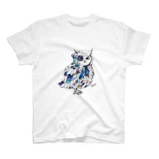 Blue OWL Tシャツ