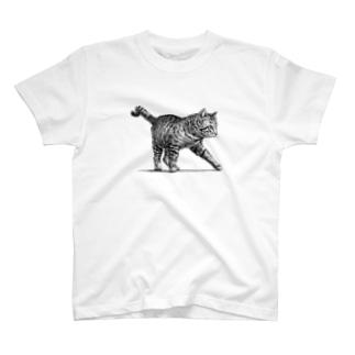 【野良猫の行進】 Tシャツ
