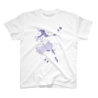 水中少女 Tシャツ