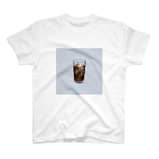 ice coffee Tシャツ