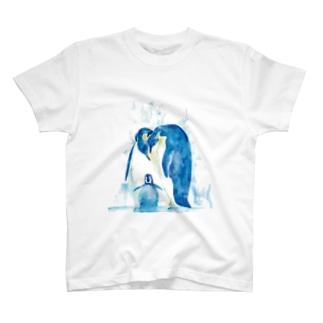 皇帝ペンギン Tシャツ