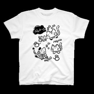 ねこちゃん Tシャツ