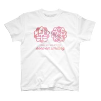 桃花ちゃん_ナゴコロゴ Tシャツ