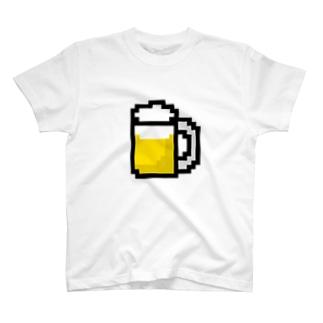 ビールアイコン Tシャツ