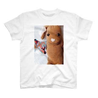 小さなTシャツとうさぎ