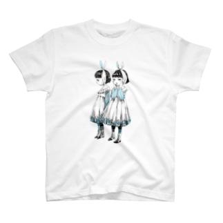 虫歯が2匹 Tシャツ