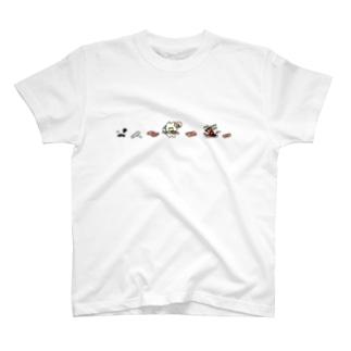 もろみと焼肉ぅ Tシャツ