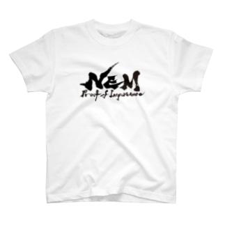 #NEM  Black Tシャツ