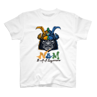 KURINOYA - クリノヤの#NEM XEMURAI 3colorsTシャツ