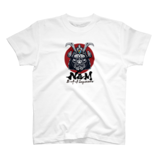 KURINOYA - クリノヤの#NEM XEMURAI JAPANTシャツ
