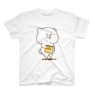 イモとくまT Tシャツ