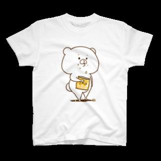 さいきたむむのイモとくまTTシャツ