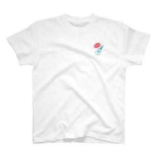 アロハなウクレレ(カラー) Tシャツ