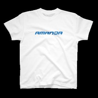 KURINOYA - クリノヤの#DASH AMANDA Tシャツ