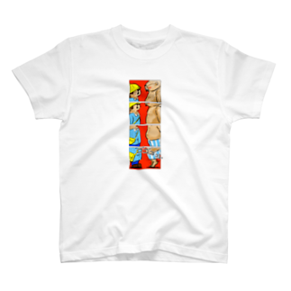 小田ロケット/odaRocketのオノマトペイント No.001「ゴゴゴゴゴ」Tシャツ