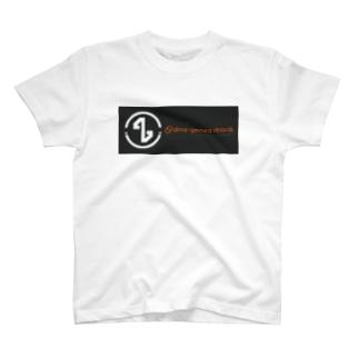 alma-gemea records  (white) Tシャツ