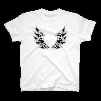 LINOS-Tの機械の羽 Tシャツ